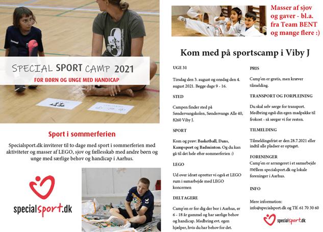 Flyer Aarhus Camp 2021